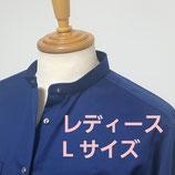 RAT☆RACE×GREENDAYS 苦楽園コラボ・バンドカラーシャツ【レディースLサイズ】