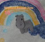 Nilpferd Rassel 7 cm