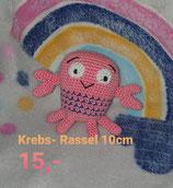 Krebs - Rassel 10 cm