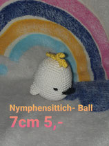 Nymphensittich - Ball 7 cm