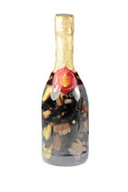 Präsentflasche mit Lakritz 600 g