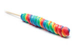 Regenbogen Lolly 75 g