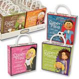 Pralinen-Box Super - Family mit Sprüchen