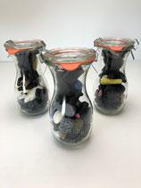 Weckglas mit Lakritzmischung 200 g