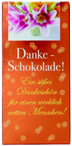Danke - Schokolade 100 g