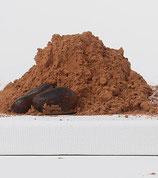 Entöltes Kakaopulver