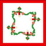 Adventskranz Decke & Deckchen