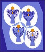 Siebenbürger Sachsen Engel Nummer 7