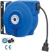 Automatische Kabelrolle mit Gummikabel und Stecker
