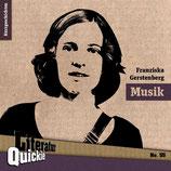11/55 Franziska Gerstenberg, Musik