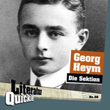 4/20 Georg Heym, Die Sektion