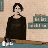 13/62 Hanna Lemke, Es ist nicht so