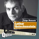 4/17 Lothar Quinckenstein, Einige Momente