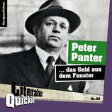 5/25 Peter Panter, ...das Geld aus dem Fenster