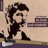 11/54 Kay Weynand, 24 Grad und windstill