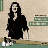10/49 Betty Kolodzy, Schöner Schwimmen