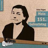 13/61 Irina Tegen, Mein 151. Geburtstag