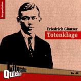 9/44 Friedrich Glauser, Totenklage