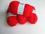 Materialpaket Filzwolle Rot 200g