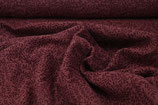 """Musselin """"Leaves"""" weinrot organic cotton"""