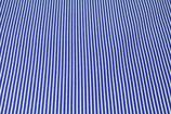 Baumwoll-Druck Streifen blau weiß