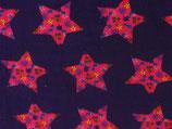 BabyCord Sterne mit Blumen