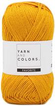 Yarn and Colors Favorite 015 Mustard