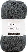Yarn and Colors Favorite 098 graphite