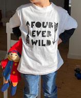 Kinder T-Shirt FOUR EVER WILD