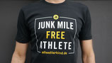 Herren T-Shirt JUNK MILE FREE ATHLETE