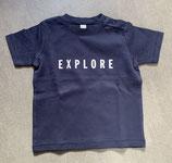 Kinder T-Shirt EXPLORE