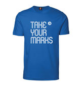 Herren T-Shirt TAKE YOUR MARKS