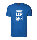 Herren T-Shirt SHUT UP AND SWIM