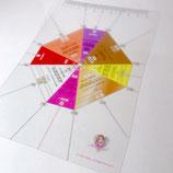 Mariaveil カラー方位盤シート