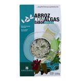 Reis mit Algen