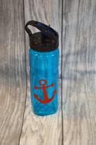 Trinkflasche Blau