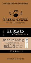 """Espresso El Siglo """"Wer Espresso mag, wird diesen Robusta lieben"""""""