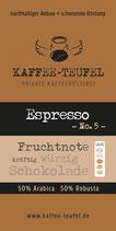 Espresso No. 5
