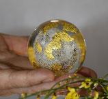 Diamant-Gold-Energie-Kugel groß