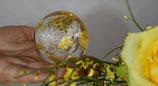 Diamant-Gold-Energie-Kugel klein