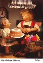 Mecki Ansichtskarte - Alles Liebe zum Geburtstag