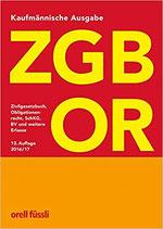 ZGB OR Kaufmännische Studienausgabe
