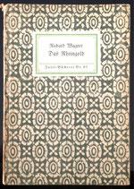 Wagner Richard, Das Rheingold