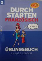 Durchstarten Französisch 2 Übungsbuch