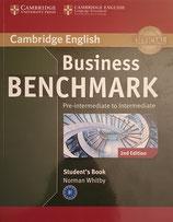 Business Benchmark Pre-Intermediate Student's Book