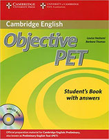 Objective PET Student's Book with answers