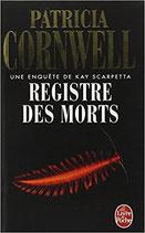 Cornwell Patricia, Registre des morts