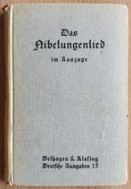 Legerlotz Gustav, Das Nibelungenlied im Auszuge