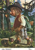 Mecki Ansichtskarte - Alter Wilddieb!