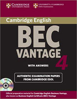 BEC Vantage 4 with answers